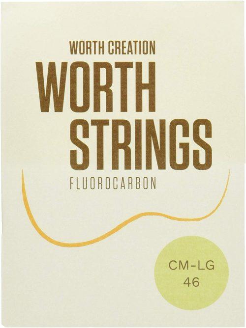 ワース(Worth) ウクレレ弦 CM-LG クリアフロロカーボン弦 セット Low-G