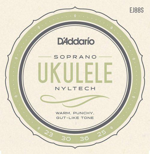 ダダリオ( D'Addario) ウクレレ弦 EJ88S Nyltech Soprano