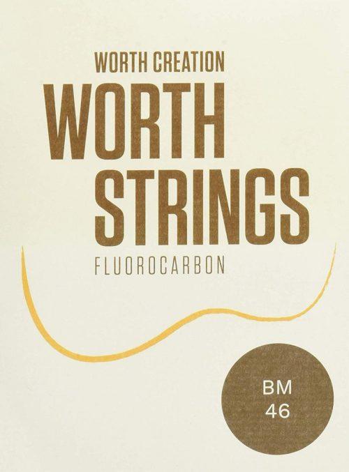 ワース(Worth) ウクレレ弦 BM ブラウンフロロカーボン弦 セット