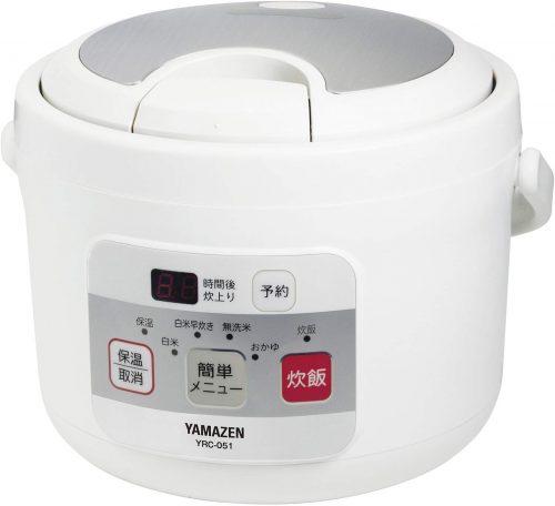 山善(YAMAZEN) マイコン式炊飯ジャー YRC-051