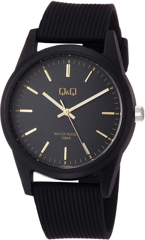 シチズン キューアンドキュー(CITIZEN Q&Q) ウレタンベルト アナログ腕時計 VS40-005
