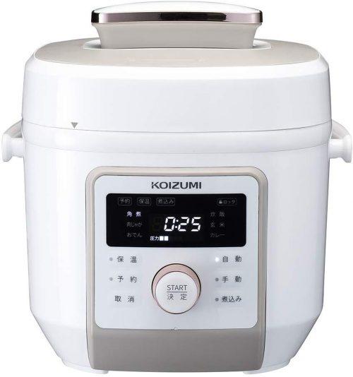 コイズミ(KOIZUMI) 電気圧力鍋 KSC-4501