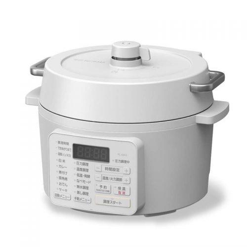 アイリスオーヤマ(IRIS OHYAMA) 電気圧力鍋 ホワイト PC-MA2