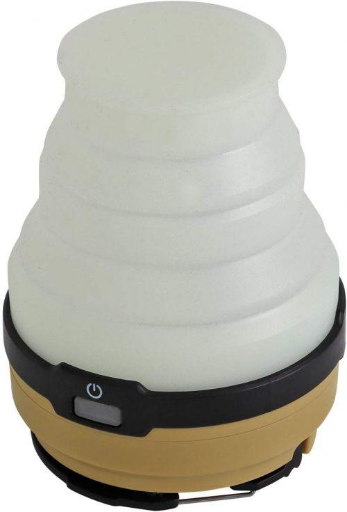 ディーオーディー(DOD) LED ソーラー ポップアップ ランタン