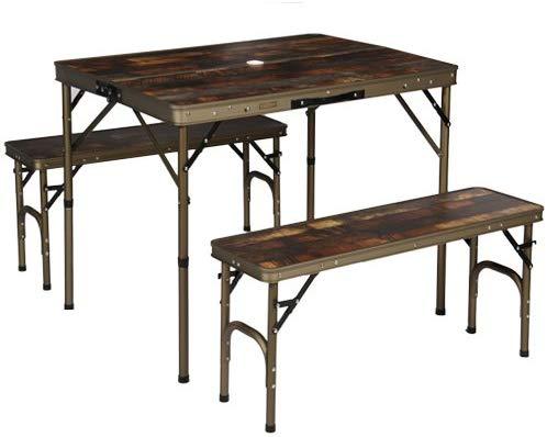 クイックキャンプ アルミ(QUICKCAMP) アウトドア テーブル
