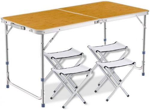 DesertFox アウトドア 折りたたみ テーブル