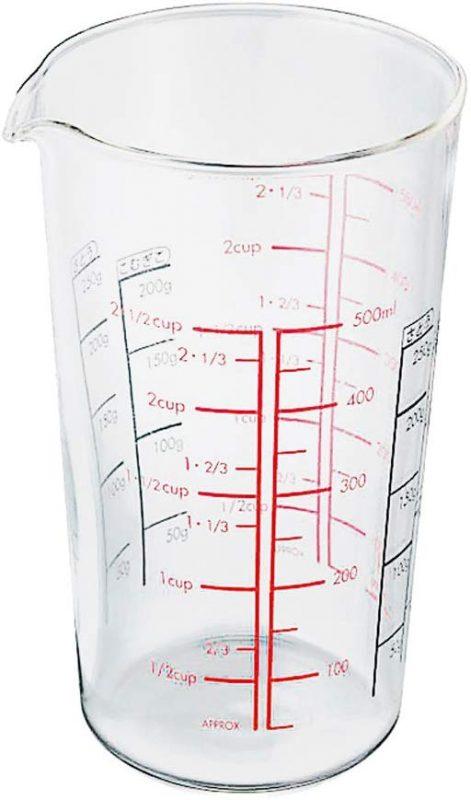 HARIO メジャーカップ 耐熱ガラス 500ml CMJ-500