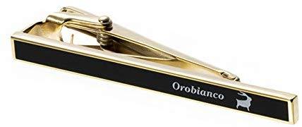 オロビアンコ(Orobianco) ネクタイピン ゴールドブラック ORT246B