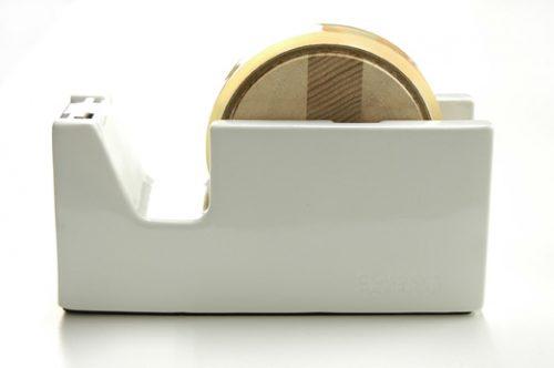 倉敷意匠 白磁テープカッターL