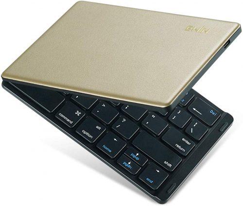 Ewin 折りたたみ式ワイヤレスキーボード EW-ZR050