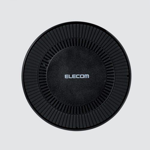 エレコム(ELECOM) 冷却ファン搭載Qi規格対応ワイヤレス充電器 W-QA06X