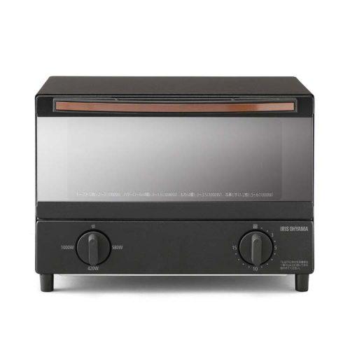 アイリスオーヤマ(IRIS OHYAMA) スチームオーブントースター 2枚焼き BLSOT-011-B