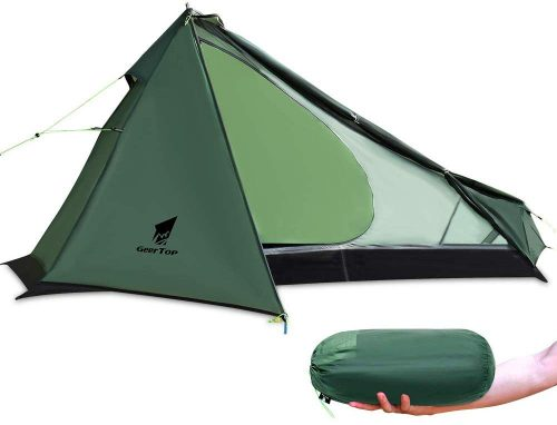 ギアトップ(GEERTOP) 超軽量テント 1人用