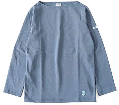 オーシバル(ORCIVAL) バスクシャツ cotton lourd B211