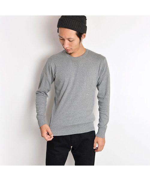 ジチピ(GICIPI) コットンニットロングスリーブTシャツ