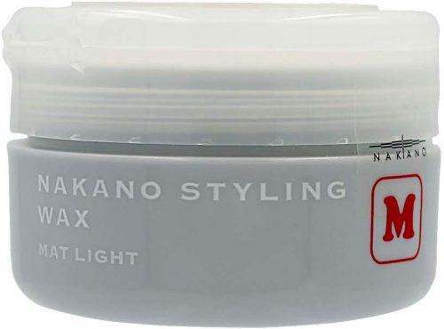 ナカノ(NAKANO) スタイリングワックス M マットライト 90g
