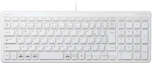 エレコム(Elecom) コンパクトキーボード TK-FCP097WH