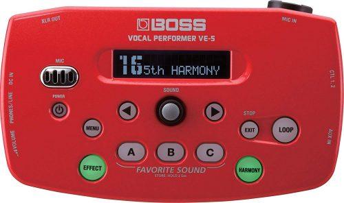 ボス(BOSS) ボーカルエフェクター Vocal Performer VE-5-RD