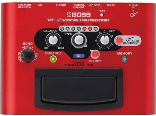 ボス(BOSS) ボーカルエフェクター VE-2 Vocal Harmonist