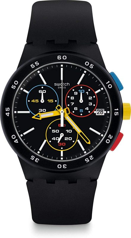 スウォッチ(SWATCH) BLACK-ONE CHRONO SUSB416