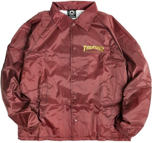 スラッシャー(THRASHER) Pentagram Coach Jacket