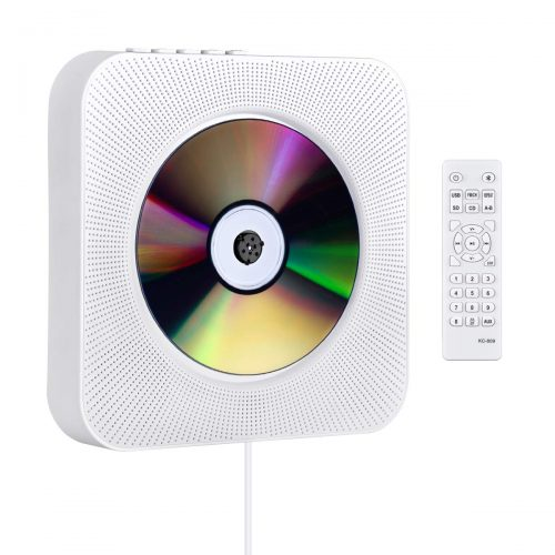 Gueray CDプレイヤー 置き&壁掛け式 Pecen1599023FBM01C