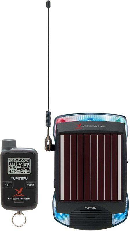 ユピテル(YUPITERU) Aguilas ソーラー充電対応 カーセキュリティー VE-S37RS