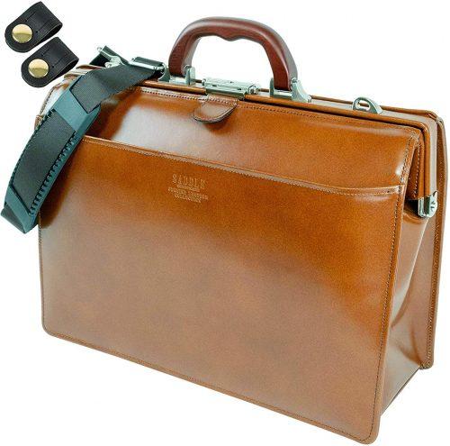 竹八謹製 高級 本革 ダレスバッグ