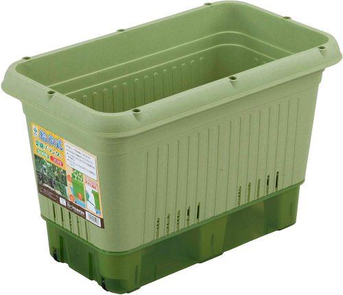 グリーンパル(green-pal) 給水式菜園プランター650型 コロ付