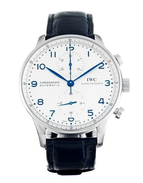 IWC ポルトギーゼ クロノグラフ メンズ腕時計 IW371446