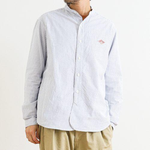 ダントン(DANTON) オックスフォード バンドカラーシャツ