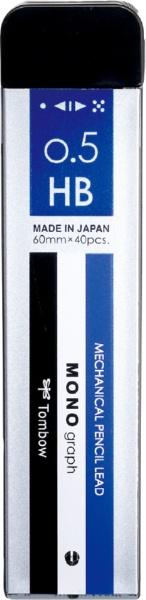 トンボ鉛筆 シャープ芯 モノグラフ MG 0.5 HB R5-MGHB01