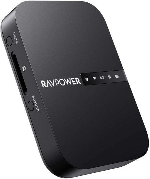 RAVPower Wi-Fi SDカードリーダー