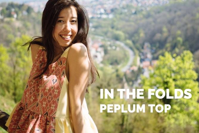sakijane.com - in the folds peplum top
