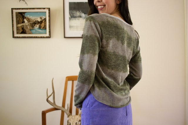saki jane - briar sweater