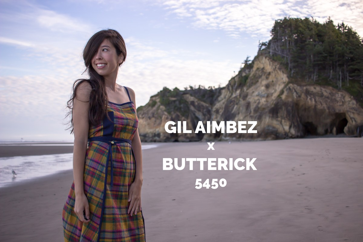 Vintage Gil Aimbez x Butterick 5450