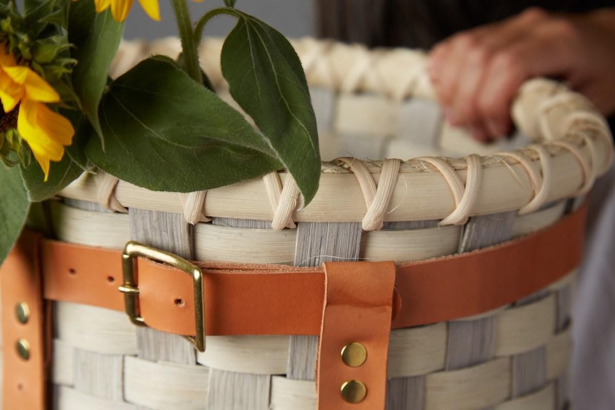 Adirondack Pack Basket + Weaving with Andie Foxglove