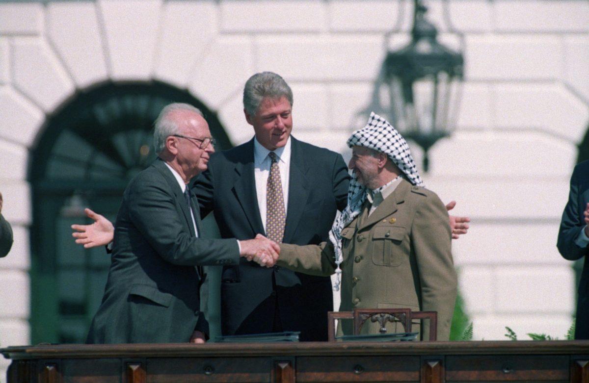 yeasir arafat and PLO
