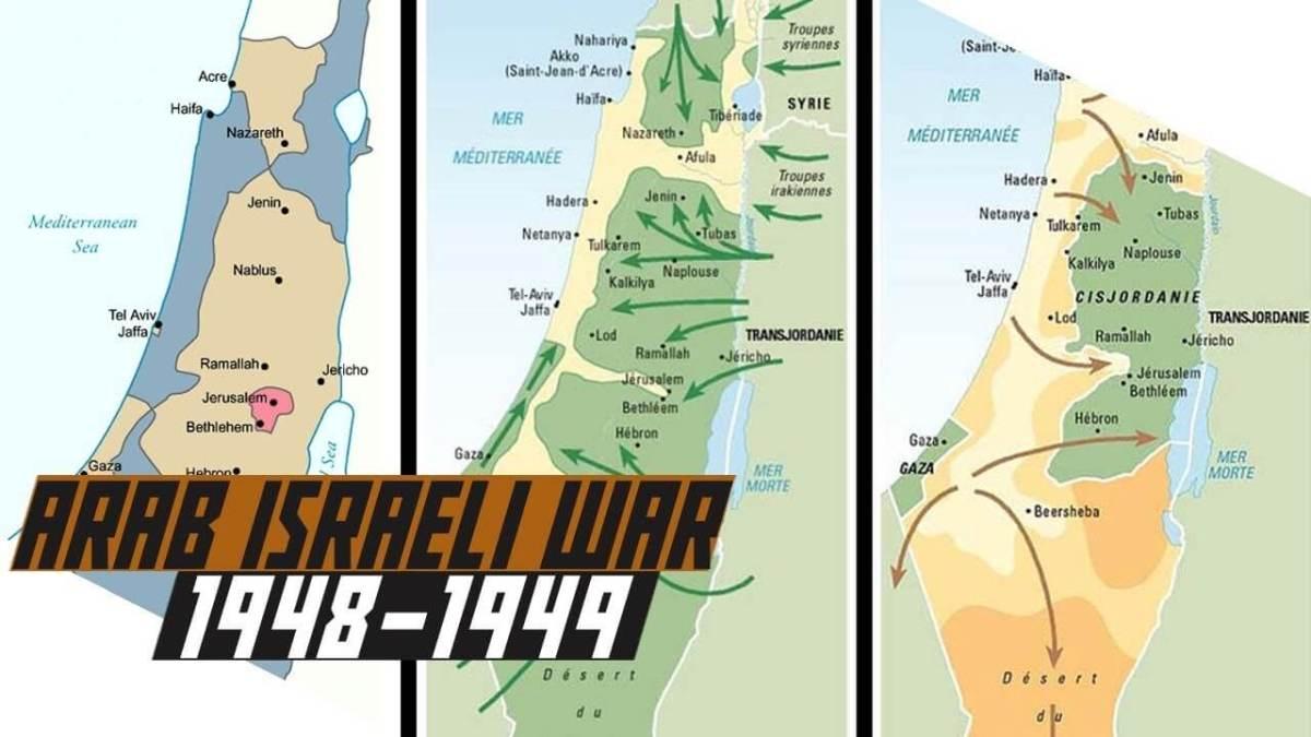 first Arab-Israel war in 1948-49