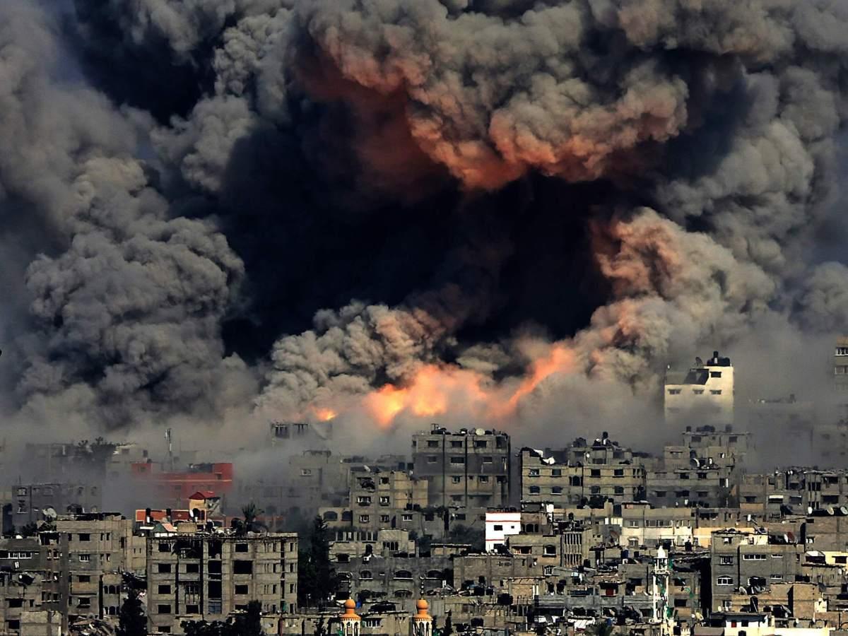 Gaza strip- a Palestine city under attack