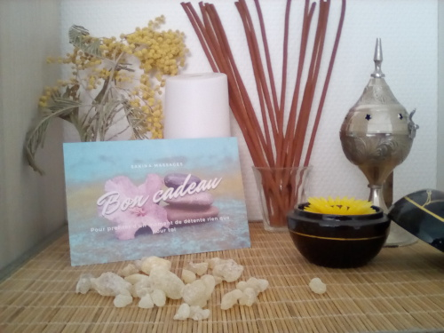 Bon cadeau Sakina Massages