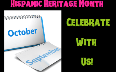 Hispanic Heritage Month – Celebrate With Us!