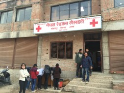 Front of Nepal Red Cross Society
