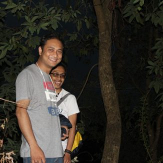 Pratik & Mahesh - All smiles despite the climb