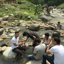 Our pit stop: River Roshi
