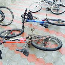 Even our bikes need rest
