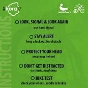 Helmet? Check. Bike? Always Check.