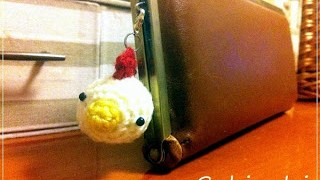 ニワトリの編みぐるみ