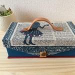Aliceのmini金庫、英単語のティーパーティー青バージョン