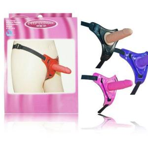 Deep Climax Ten Rengi Belden Bağlamalı Penis